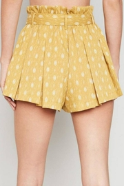 Hayden Los Angeles High-Waist Belted Shorts - Back cropped