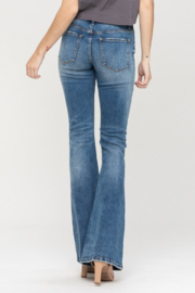 Vervet High waist Button up Flare Jeans - Side cropped