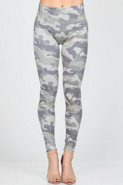 M-Rena  High Waist Camo Legging - Product Mini Image