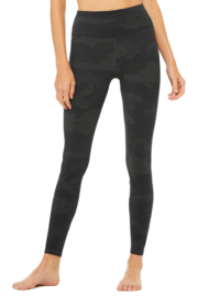 Alo Yoga  High Waist Camo Vapor Legging - Front full body