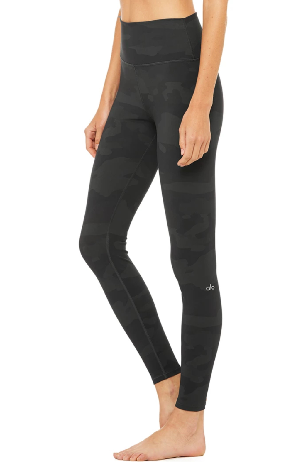 Alo Yoga  High Waist Camo Vapor Legging - Side Cropped Image