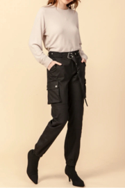 Favlux HIgh Waist Cargo Jogger Pants - Product Mini Image