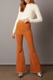 Cotton Candy LA High-Waist Corduroy Bell-Bottoms - Product Mini Image
