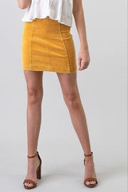 Newbury Kustom High Waist Corduroy Skirt - Product Mini Image