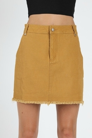 Wild Honey High Waist Denim Skirt - Product Mini Image