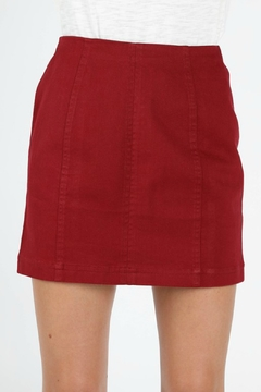 2f6169271e3 ... Wild Honey High Waist Denim Skirt - Product List Placeholder Image