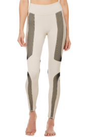 ALO Yoga High Waist Electric Legging - Front cropped
