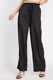 Glam High Waist Flowy pants - Front cropped