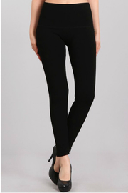 M. Rena High Waist French Terry Legging - Product Mini Image