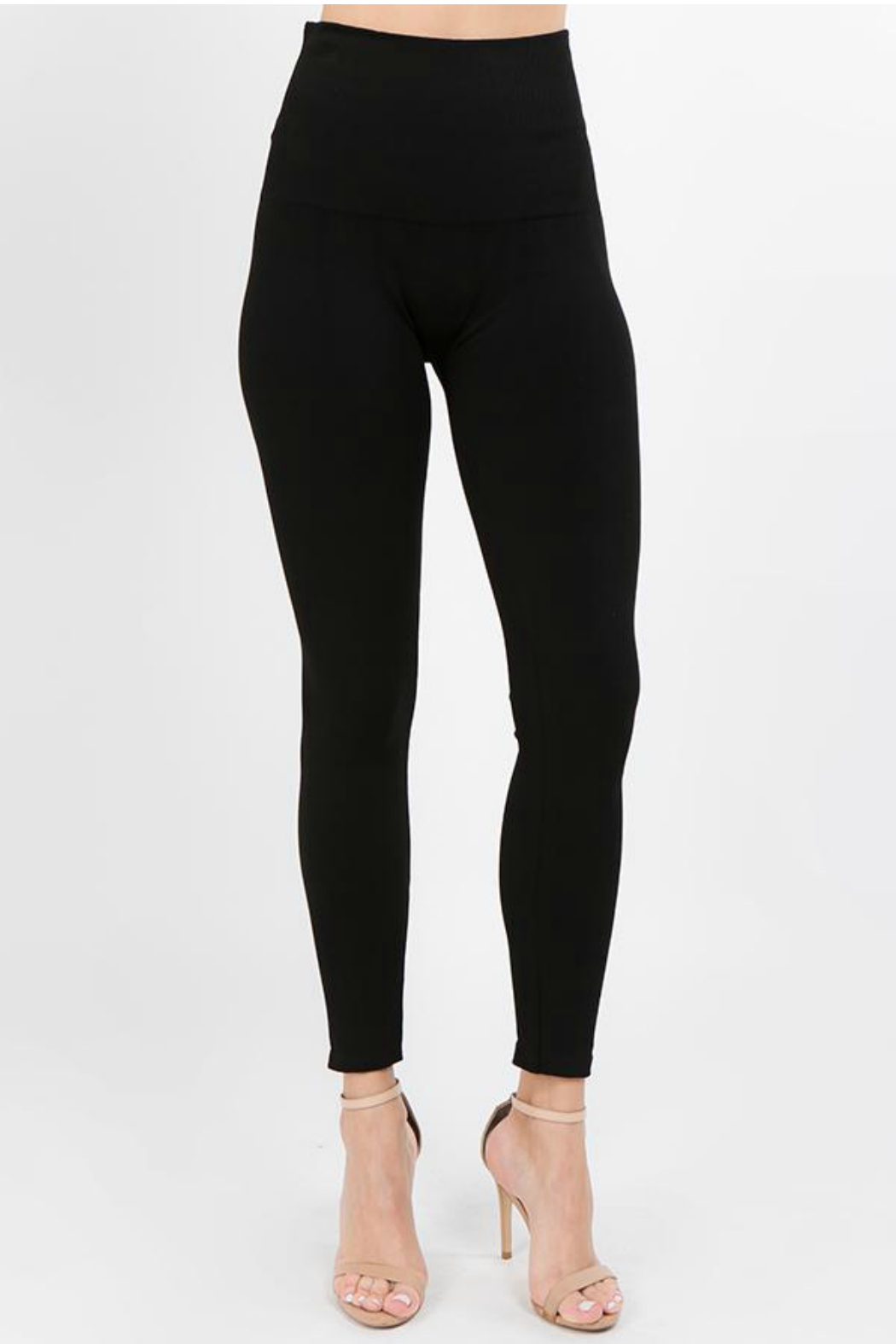 M.Rena High waist full length legging - Front Cropped Image