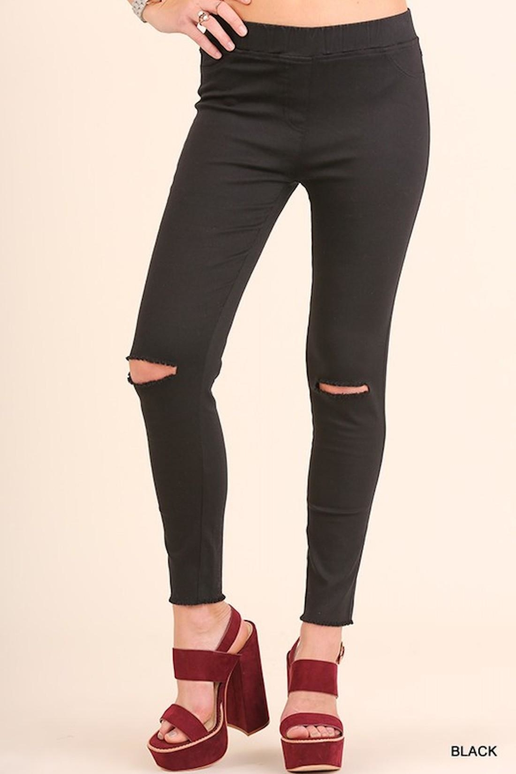 6db636b9bbb4bb Umgee USA High-Waist Knee-Cut Jeggings from Los Angeles by AndyLiz ...