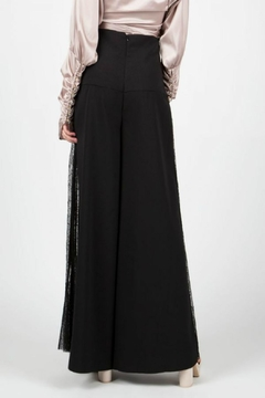 BEULAH STYLE High-Waist Lace Trousers - Alternate List Image