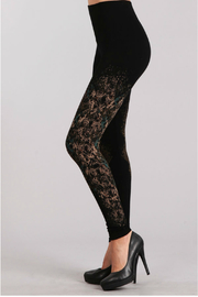 M. Rena  High Waist Legging with Tex Pring - Product Mini Image