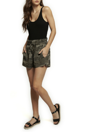 Dex High Waist Pull On Camo Short - Front cropped