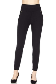 New Mix High-Waist Scuba Pant - Front cropped