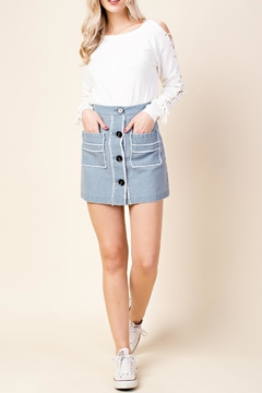 Shoptiques Product: High Waist Skirt