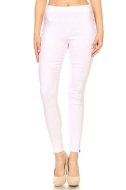 Color 5 High-Waist Stretch Jeggings - Product Mini Image