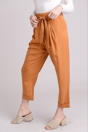 Le Lis High Waist Trousers - Front full body