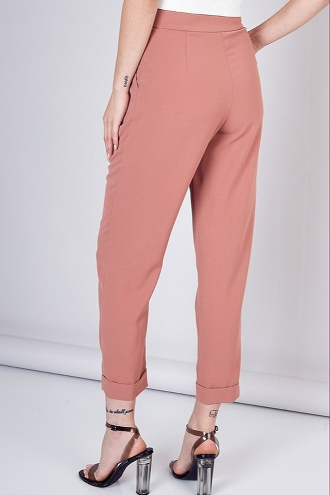 Do & Be High Waist Trousers - Front Full Image