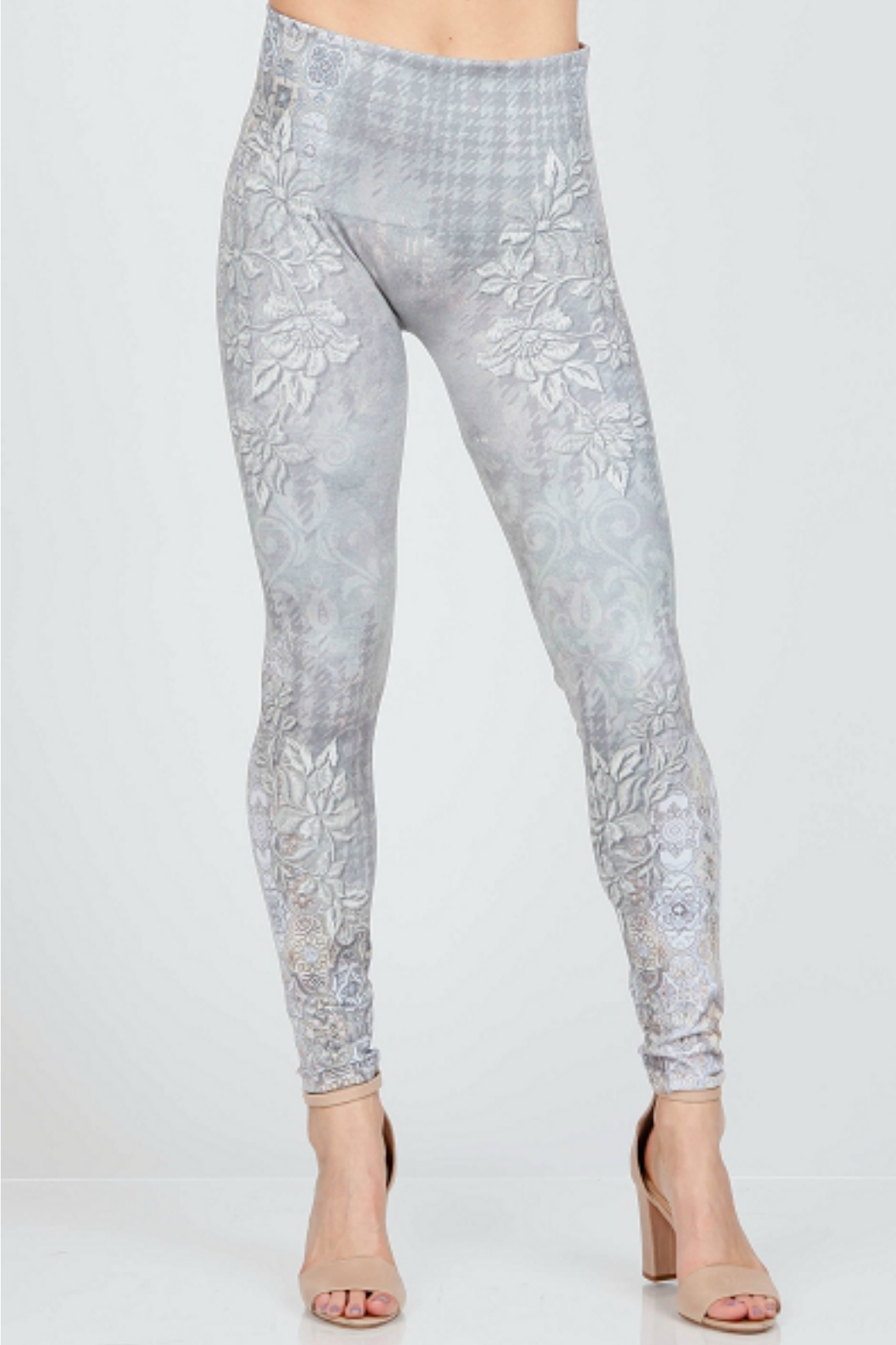 M. Rena High Waist Valentina Legging - Front Cropped Image