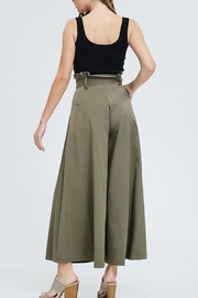 The Clothing Co High-Waist Wide-Leg Black-Dress-Pant - Side cropped