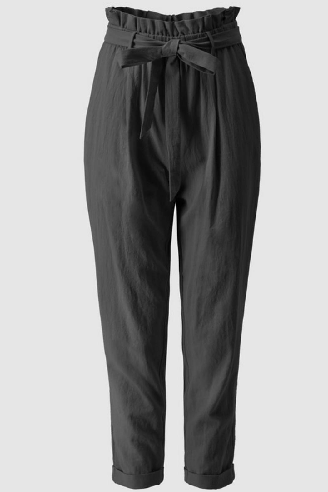Favlux High-Waisted Ankle Pants - Front Cropped Image