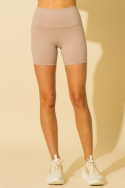HYFVE High Waisted Biker Short - Front cropped