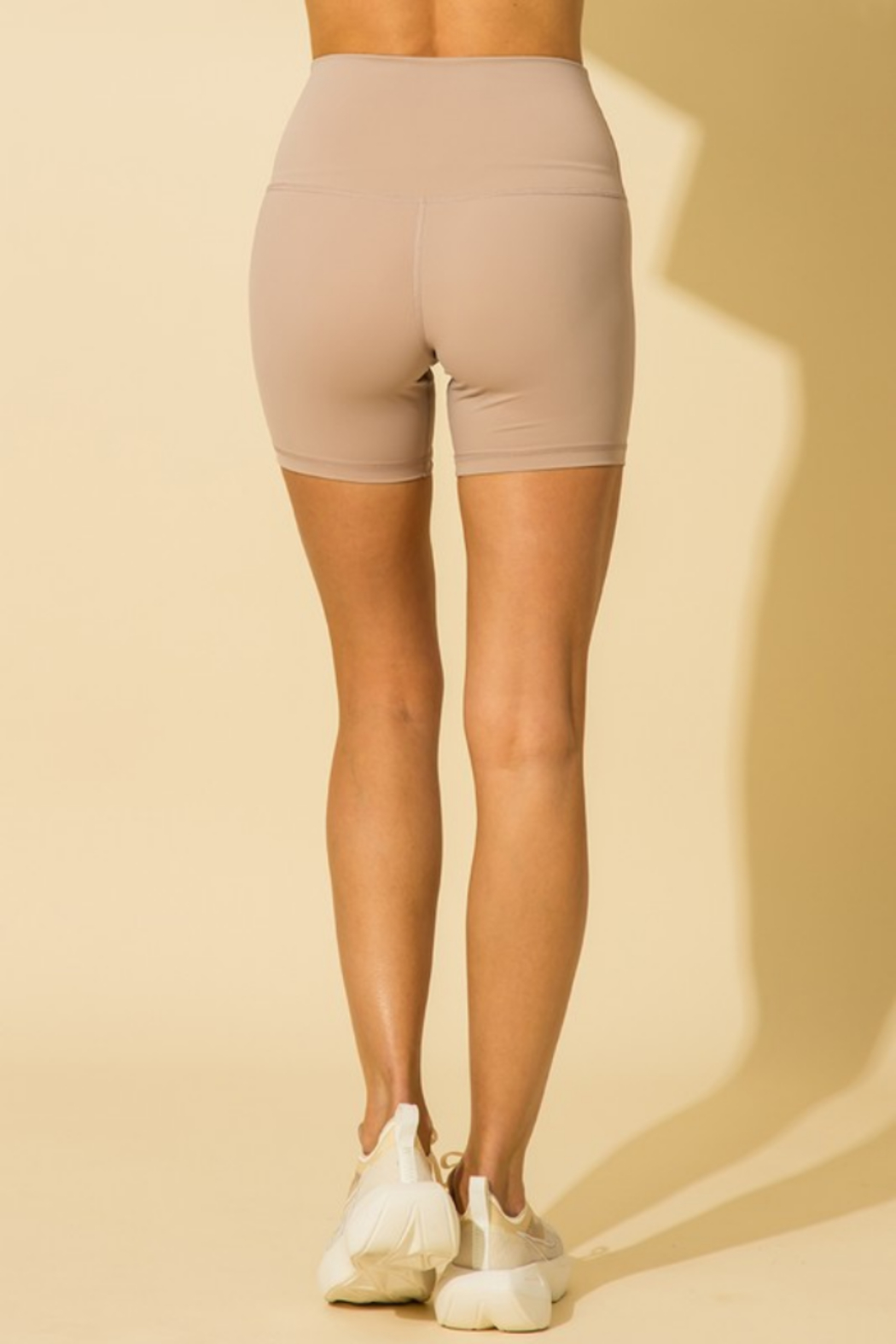 HYFVE High Waisted Biker Short - Front Full Image