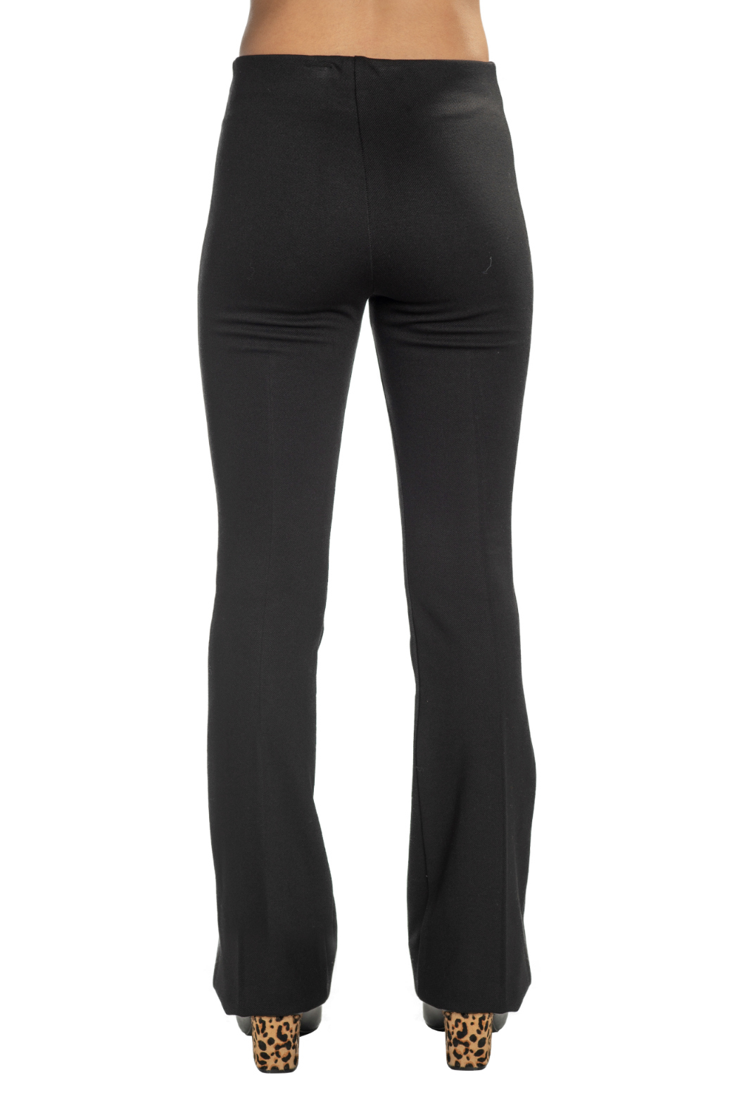 Fifteen Twenty High Waisted Bootcut Pant - Side Cropped Image