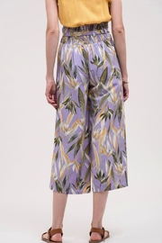J.O.A. High-Waisted Floral Pant - Back cropped