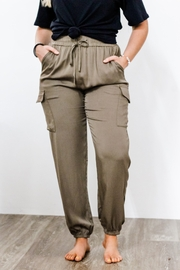 eesome High Waisted Jogger Pant - Front cropped