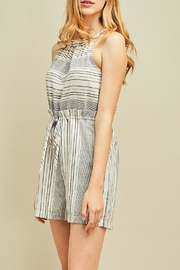 Entro High Waisted Romper - Front full body