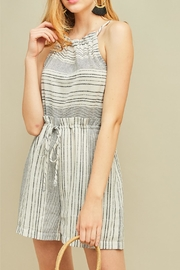 Entro High Waisted Romper - Side cropped