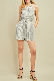 Entro High Waisted Romper - Front cropped