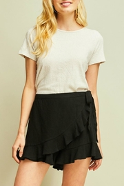 Entro High-Waisted Ruffle Skort - Product Mini Image