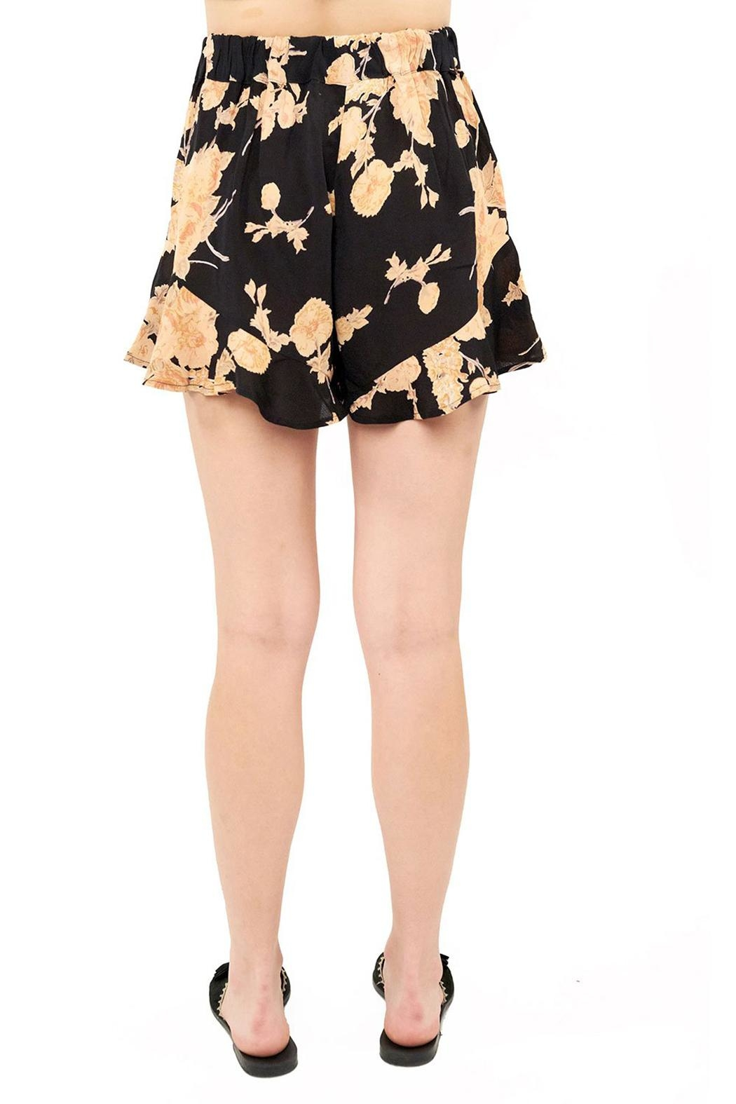 Saltwater Luxe High Waisted Short - Front Full Image