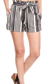 S&G Apparel High Waisted Shorts - Product Mini Image