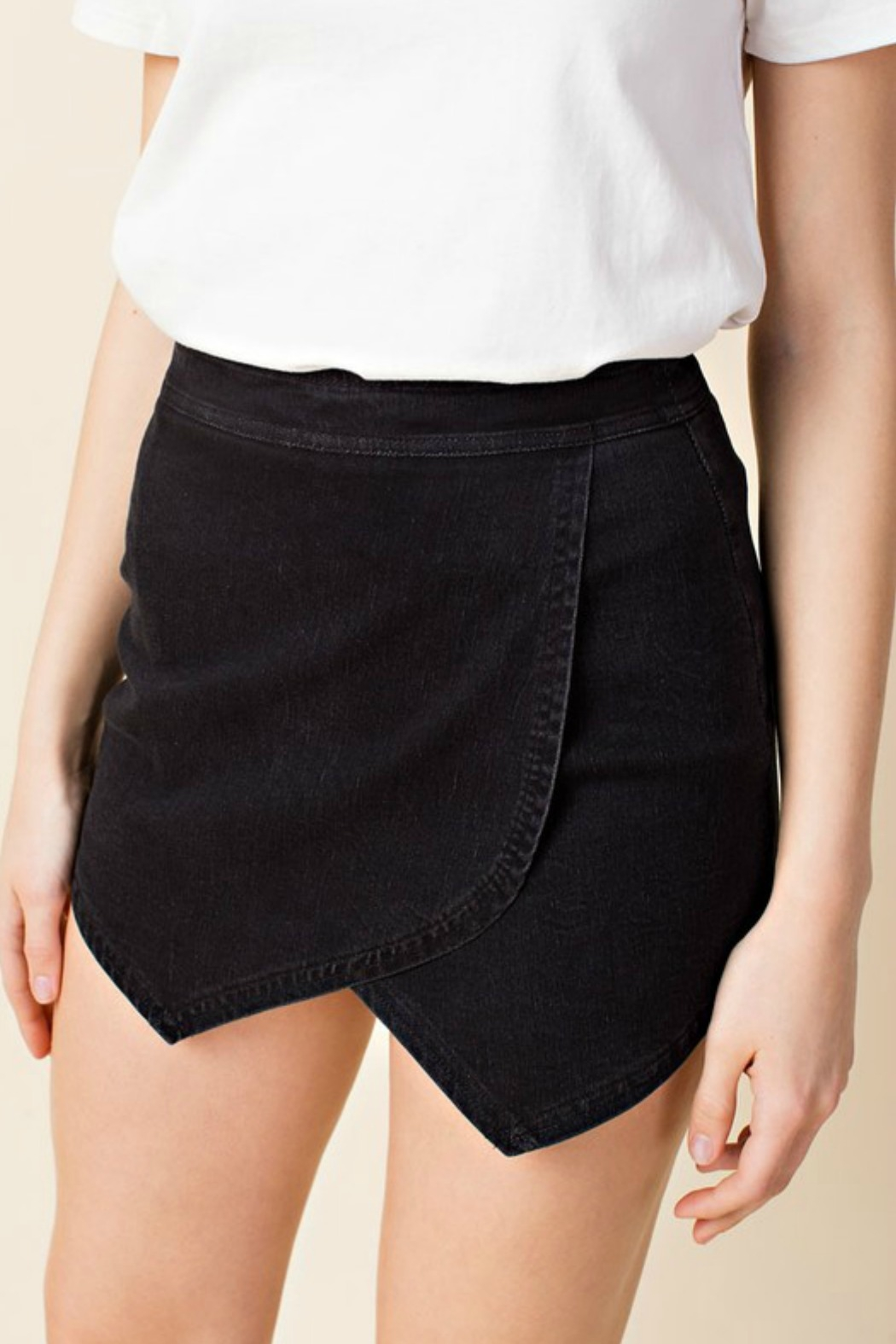 Honey Punch High Waisted Skirt - Front Cropped Image