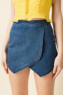 Honey Punch High Waisted Skirt - Product List Image