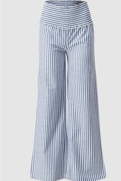 Trend:notes High-Waisted Stripe Pant - Product List Image