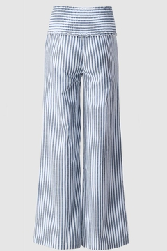 Trend:notes High-Waisted Stripe Pant - Alternate List Image