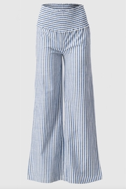 Love Tree High-Waisted Striped Pants - Front cropped