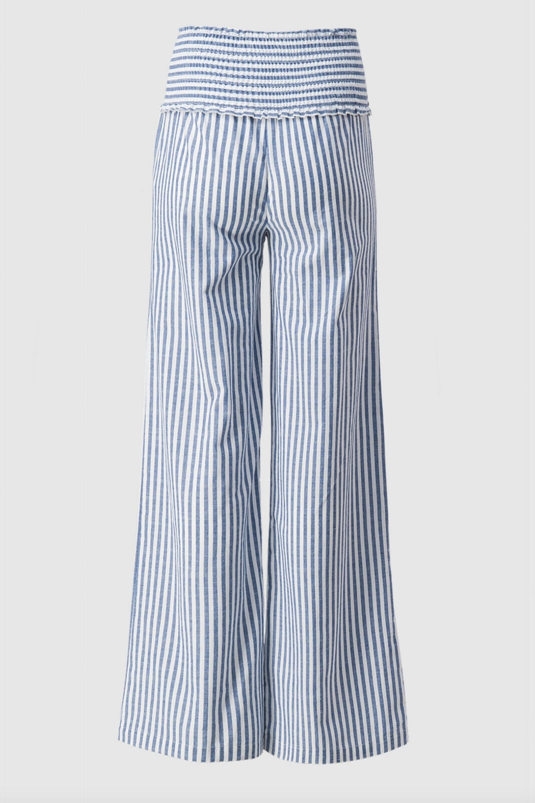 Love Tree High-Waisted Striped Pants - Side Cropped Image