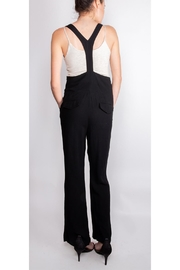 Illa Illa High-Waisted Suspender Pants - Back cropped
