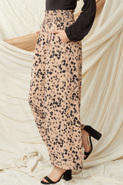 entro  High Waisted Wide Leg Pants - Side cropped
