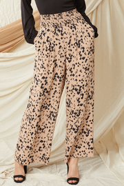 entro  High Waisted Wide Leg Pants - Front full body
