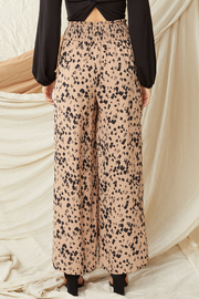 entro  High Waisted Wide Leg Pants - Back cropped