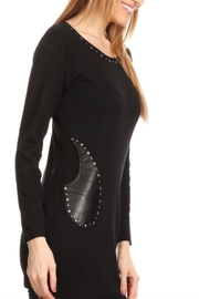 High Secret Embellished Tunic Top - Front full body