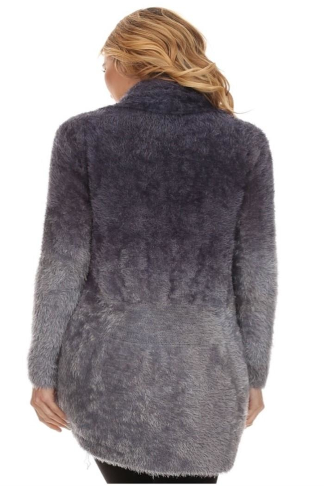High Secret Fuzzy Cardigan - Front Full Image