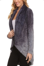 High Secret Fuzzy Cardigan - Side cropped